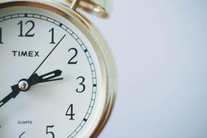 time management, clock image