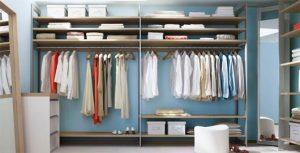 simplified closet